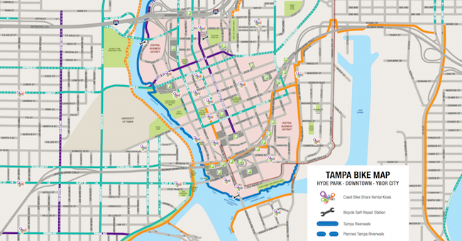 Pedal Power A Guide to Bike Trails in Tampa Thats So Tampa