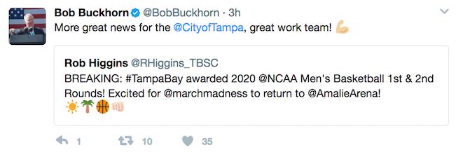 BuckhornTweet