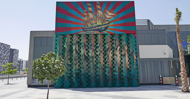 Major artist adding mural to tampa heights that s so