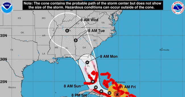 Hurricane Irma Sept 8