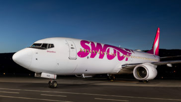 Swoop Airlines Livery Press Photo