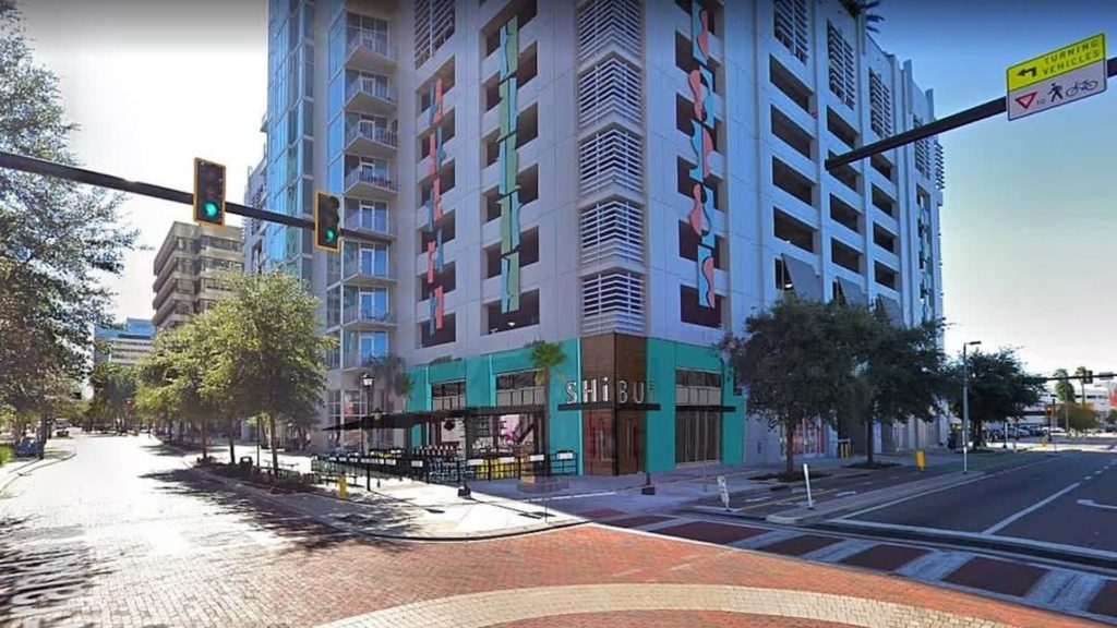 Rendering of Shibui Tampa, a new Japanese restaurant opening in downtown Tampa in the fall 2019.