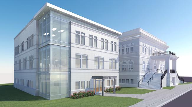 Rendering of METRO's new Ybor City facility.