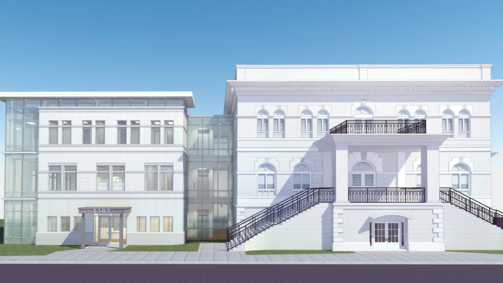 Rendering of METRO's new Ybor City facility