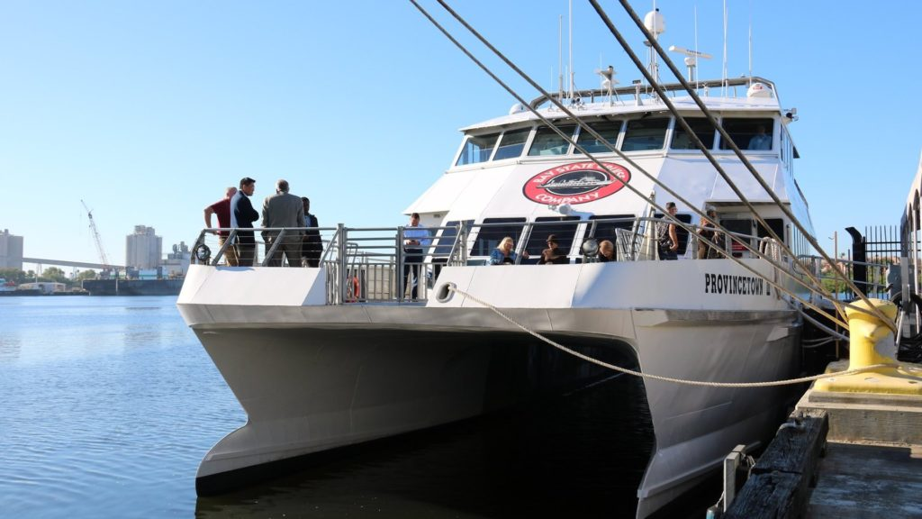 Photo of a ferry outside Tampa
