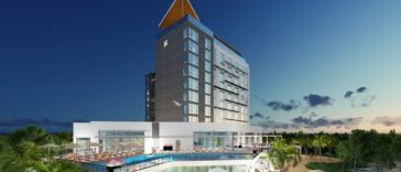 Rendering of The Current Hotel