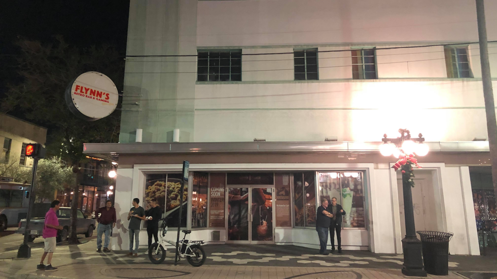 Photo outside of a bar in Ybor City