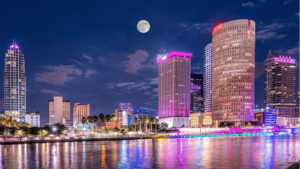 Downtown Tampa Lights