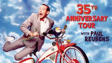 Promotional Poster for Pee-Wee Herman