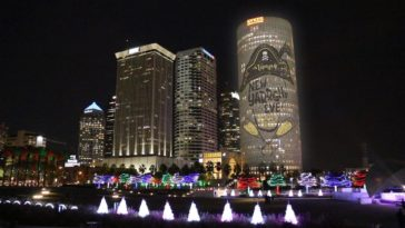 Photo of Tampa's Skyline from Curtis Hixon Park