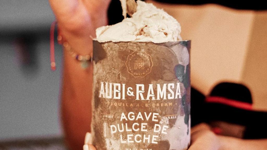 Photo of tequila-infused ice cream