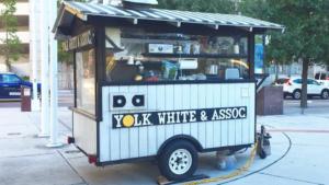 Photo of a food cart