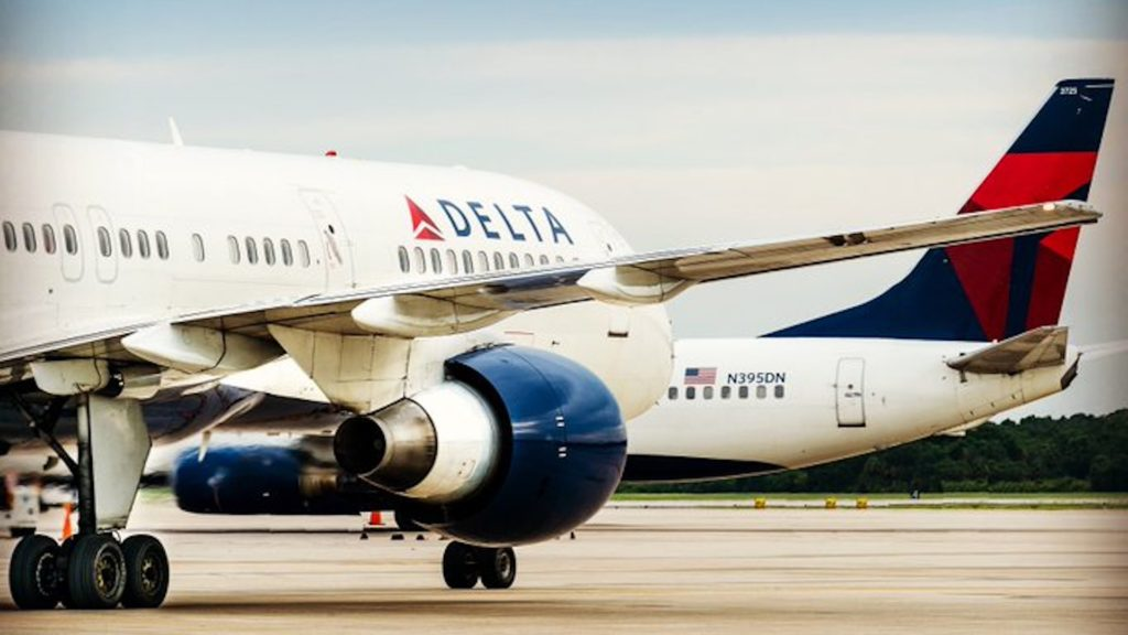 Photo of Delta planes on a runway